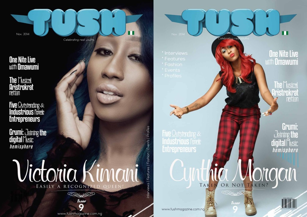Issue 9 - Victoria Kimani x Cynthia Morgan