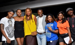 45 LOOKING GOOD ALL EYES ON THE CAMERA DAALA ORUWARI, SINGER MAY, WOFAI SAMUEL, KESIENA EBOH AND TEAM LOUDNPROUDLIVE